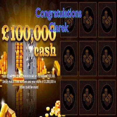 Daily Prize Draw Winner 04-04-2021