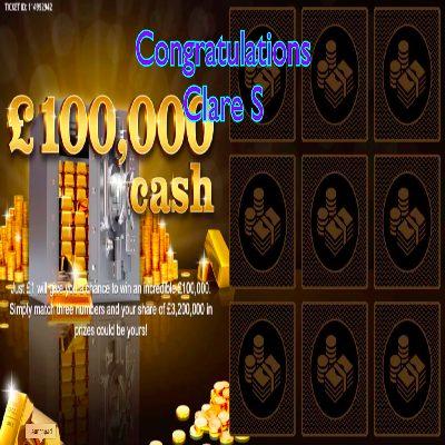 Daily Prize Draw Winner 20-04-2021