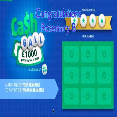 Daily Prize Draw Winner 25-05-2021
