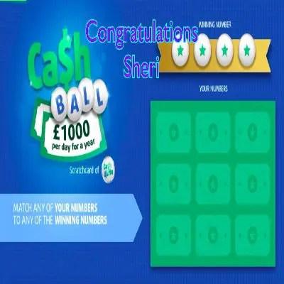 Daily Prize Draw Winner 06-06-2021
