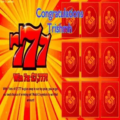 Daily Prize Draw Winner 10-06-2021