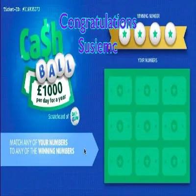 Daily Prize Draw Winner 11-06-2021