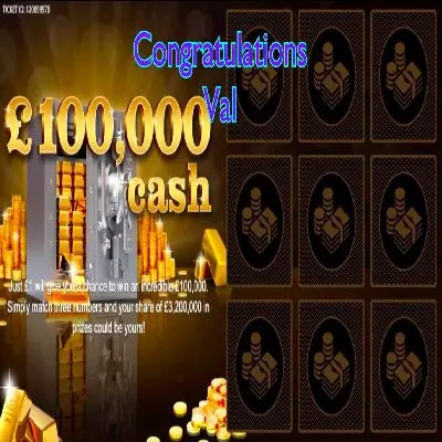 Daily Prize Draw Winner 16-06-2021