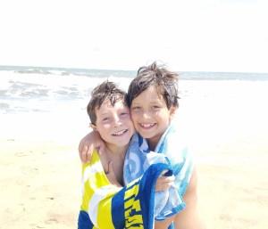 Summer childhood love back to school