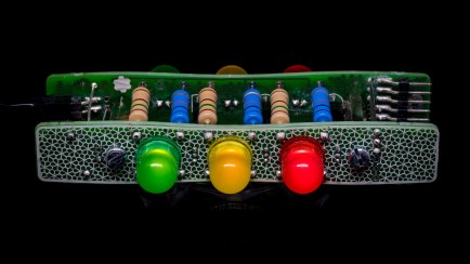 "Boldport Club Project ""Cordwood Puzzle"""