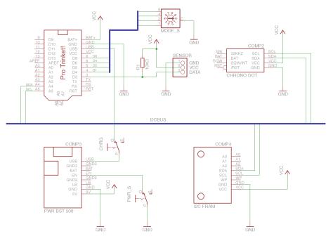 Data Logger Circuit Diagram Simple