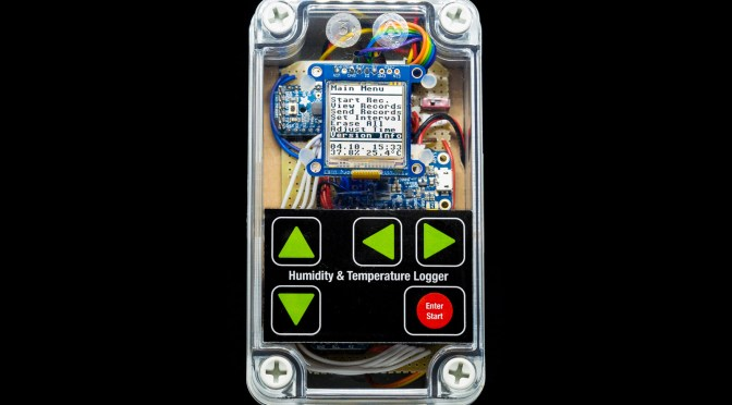 Data Logger Deluxe – Finished + Video