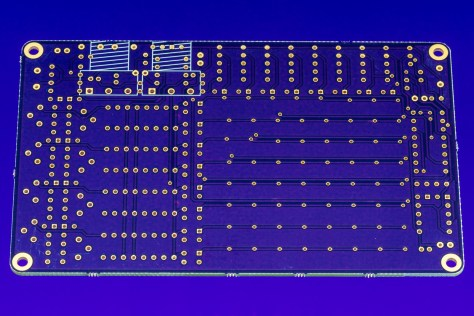 Outmoded Sequencer PCB Back