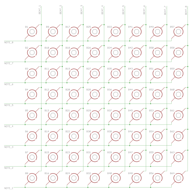 Outmoded Sequencer Matrix