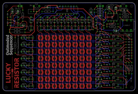 Outmoded Sequencer Final Board