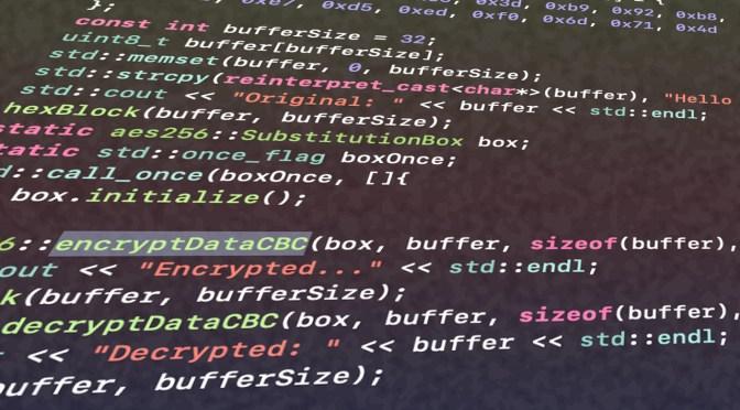 Inline AES 256 / CBC Implementation