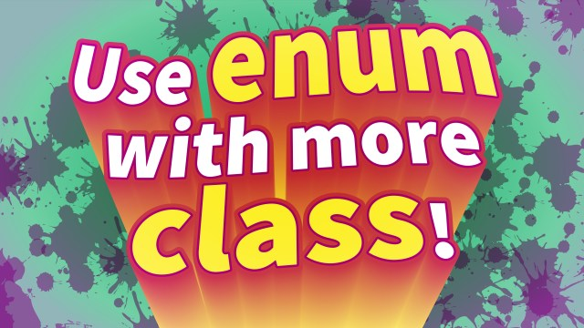 Use Enum with More Class!