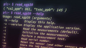 """Read SGP30"" Command-Line Tool"