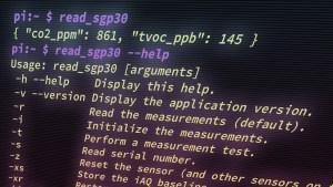 """Read SGP30"" Command-Line Tool"