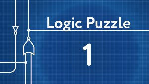 Logic Gates Puzzle 1