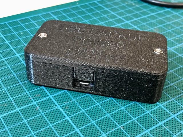 Adafruit PowerBoost 1000C Enclosure (LR2165)
