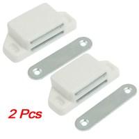 2Pcs Practical Plastic Cabinet Cupboard Door Magnetic ...