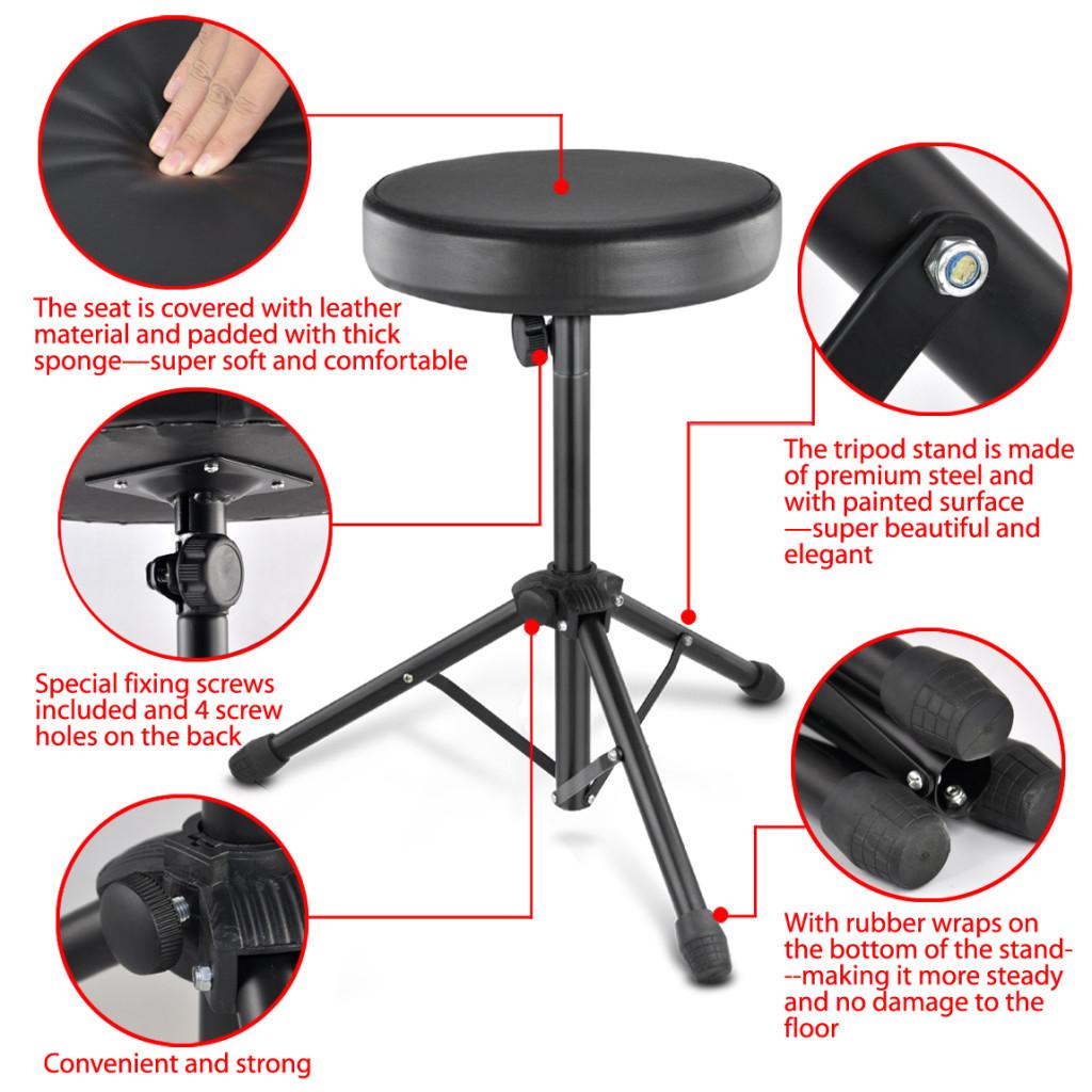 folding chair guitar chords office legs 10x cf712 music keyboard drum stool rock
