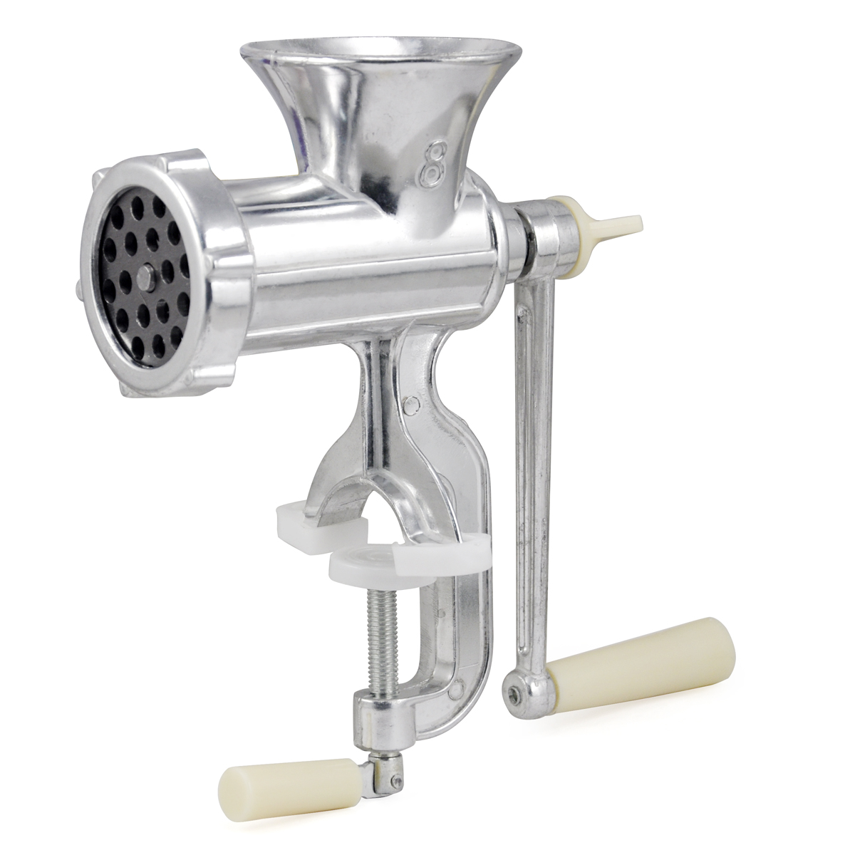 Hand Operated Kitchen Clamp Grinder Meat Mincer Maker Beef