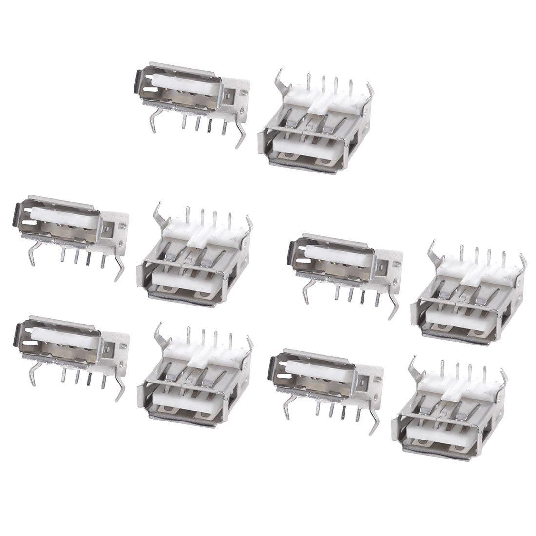 10PCS USB Type A Standard Port Female Solder Jacks