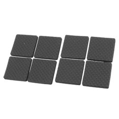 Sofa Feet Covers Bed 3 In 1 Happy Dream Black Protective Furniture Table Chair Foot Square Pad Ts
