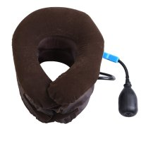 Air Inflatable Pillow Cervical Neck Head Pain Traction