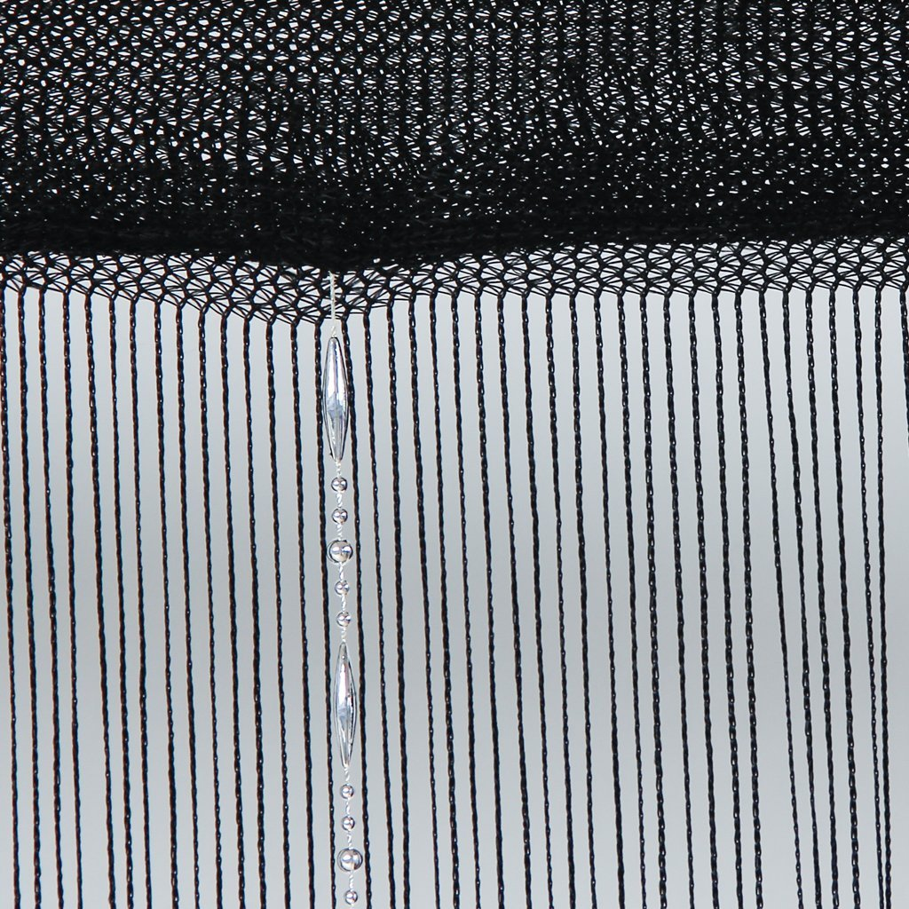 Cortina de La Ventana Habitacin Tira Cortina Moda Perlas Bola AC  eBay