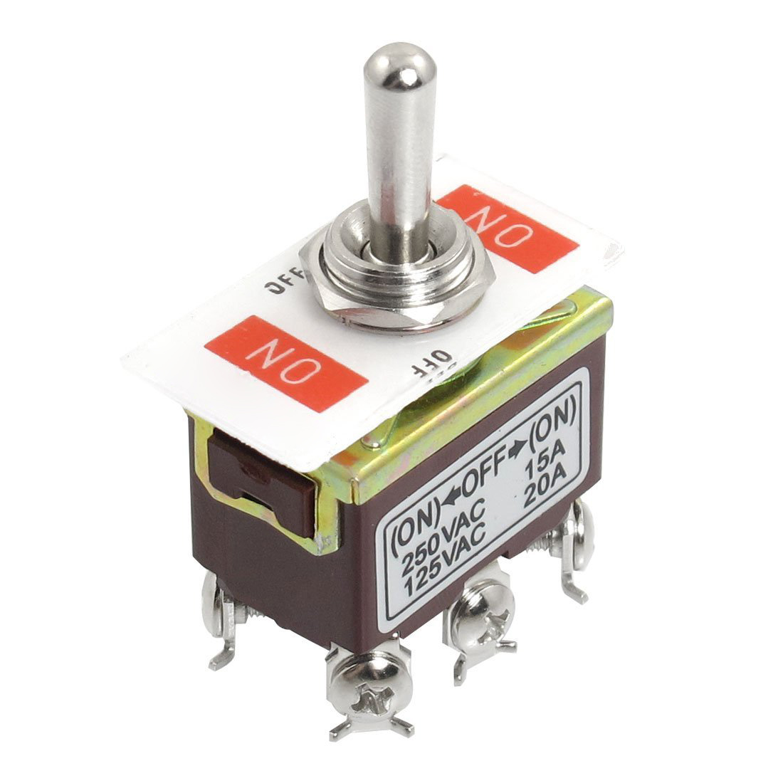 hight resolution of ac 250v 15a 125v 20a on off on 3 position dpdt momentary