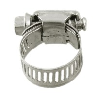 10 Pcs Stainless Steel 13mm to 19mm Hose Pipe Clamps ...