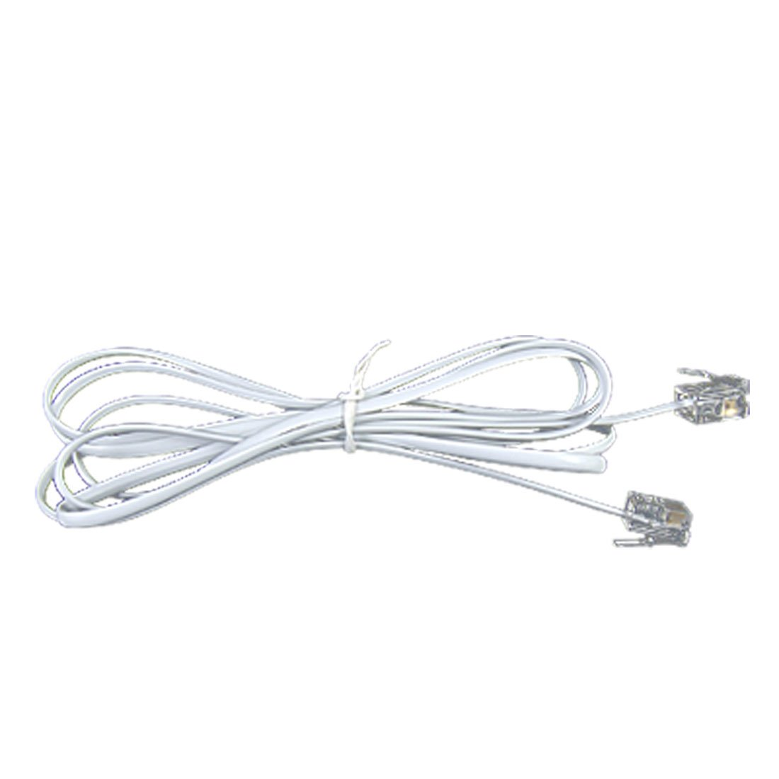 4.8ft RJ11 to RJ11 Male to Male Telephone Cable Connector