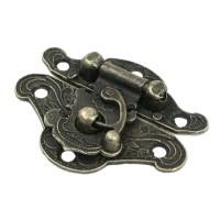 Cabinet Furniture Hardware Bronze Tone Metal Antique Style