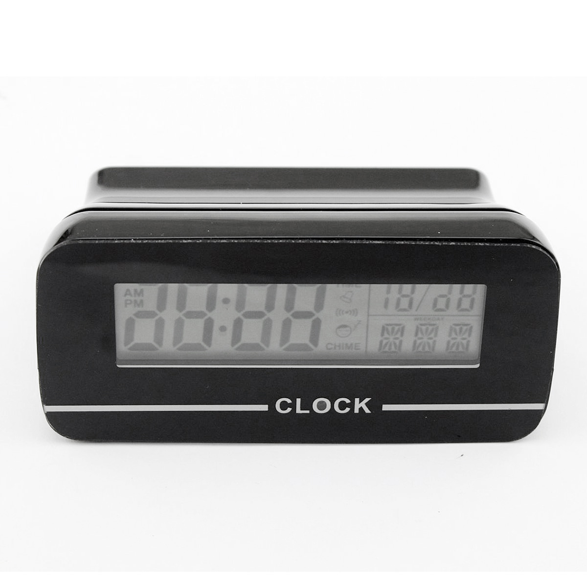 Wifi Ip Mini Clock Dvr Alarm Wireless Camera Spy Hidden