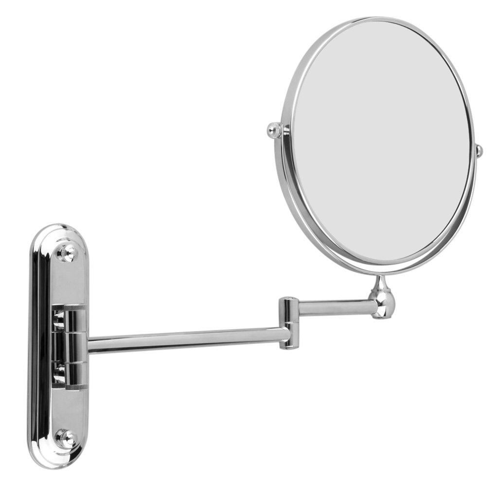 7X Magnified 8 inch Bathroom Shaving Make Up Mirror Wall