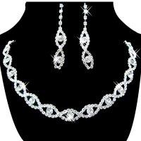 Women's Jewelry Set Bridal Wedding 8 Shape Rhinestone ...
