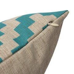 Sofa Throw Covers Asda How To Slipcover A With Attached Cushions Geometric Cotton Linen Cushion Cover Pillow Case