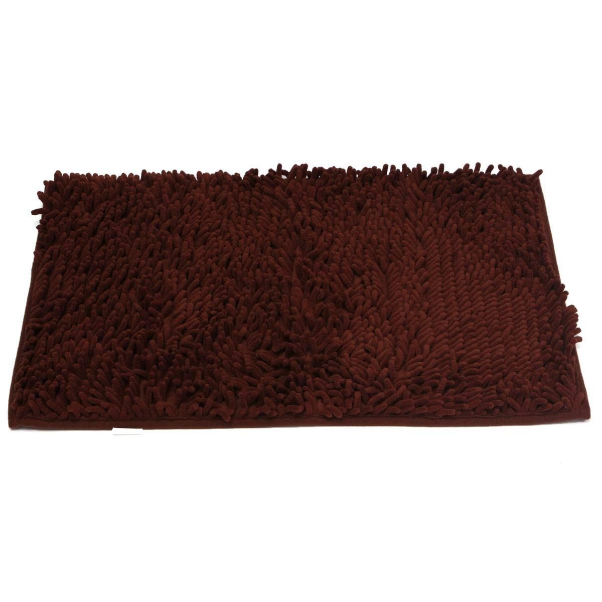 1pcs Washable Bathroom New Shaggy Rugs Non Slip Bath Mat
