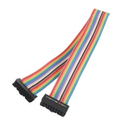 details about 2 54mm pitch 16pin female to female idc connector rainbow ribbon flat cable ad [ 1008 x 1008 Pixel ]