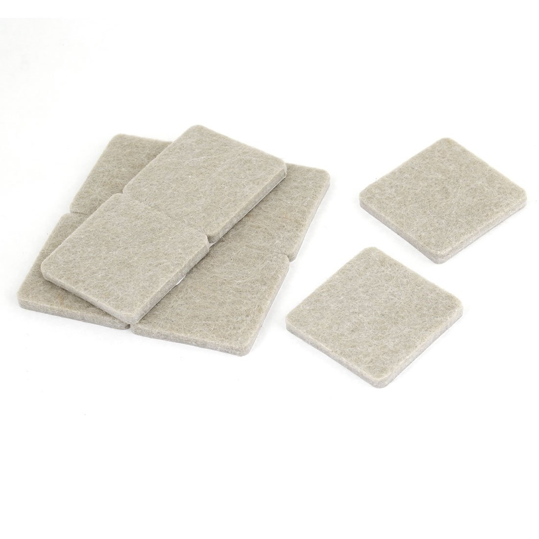chair felt pads white plastic chairs walmart 8 pcs home table leg protection square cushion