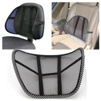 Mesh Lumbar Back Brace Support Chair Cushion Seat Waist ...
