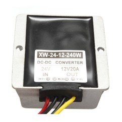 Power Window Fort Universal 12v Dc Golf Cart 36 Volt Wiring Diagram Voltage Converter Regulator 24v Step Down To 20a