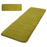 120x40cm Absorbent Nonslip Memory Foam Bedroom Door Floor ...