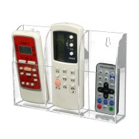 TV Air Conditioner Remote Control Holder Case Acrylic Wall ...