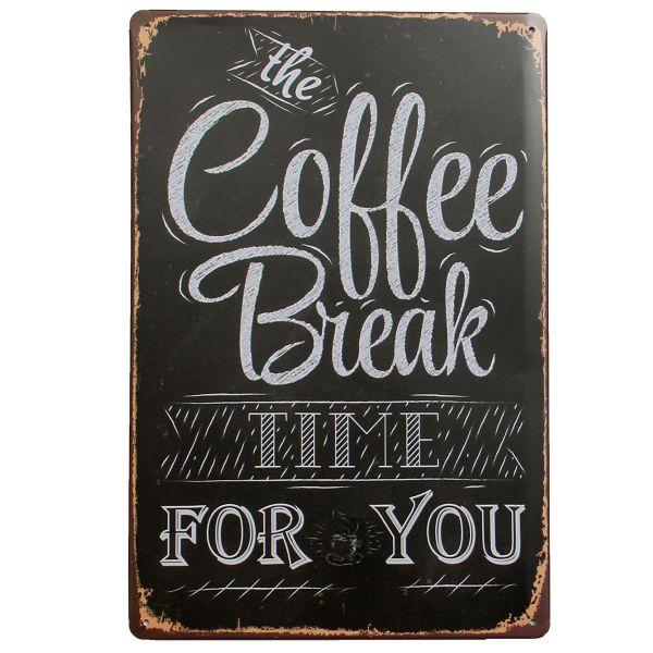 Beer Coffee Tavern Vintage Metal Sign Tin Poster Plaque