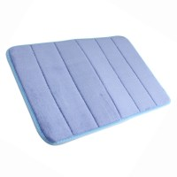 MEMORY FOAM BATHROOM MAT TOILET CARPET NON