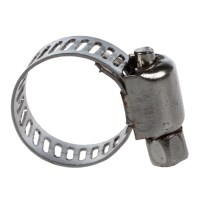 10 x Stainless Steel Fuel Hose Clamp Line Pipe Clips ...