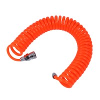 6M 19.7Ft 8mm x 5mm Flexible PU Recoil Hose Tube for ...