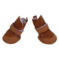 Warm Walking Cozy Pet Dog Shoes Boots Clothes Apparel 3 Ad ...