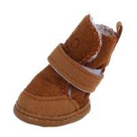 Warm Walking Cozy Pet Dog Shoes Boots Clothes Apparel 3 ...
