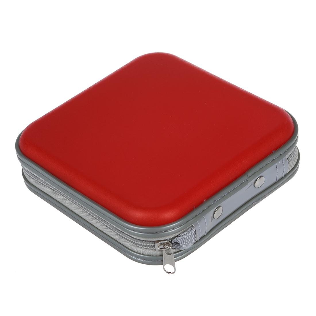 40 Cd Dvd Disc Storage Carry Case Cover Holder Bag Hard
