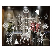 Christmas Wall Sticker Christmas Decorations For Home ...
